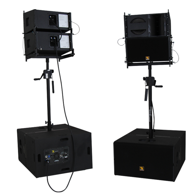 VR10&S30 active line array system
